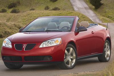 2008 Pontiac G6 Convertible