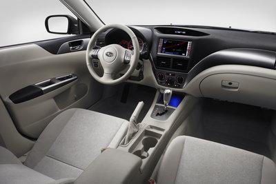 2008 Subaru Impreza Sedan Instrumentation