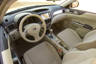 2008 Subaru Impreza Wagon Instrumentation