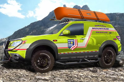 2008 Subaru Mountain Rescue Forester