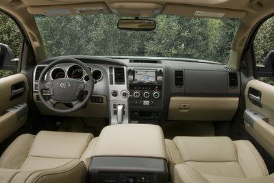 2008 Toyota Sequoia Limited Instrumentation