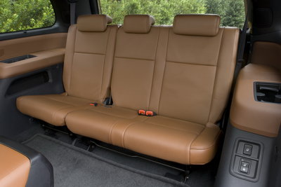 2008 Toyota Sequoia Platinum Interior