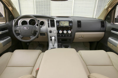 2008 Toyota Tundra CrewMax Instrumentation