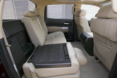 2008 Toyota Tundra CrewMax Interior