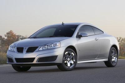 2009.5 Pontiac G6 Coupe