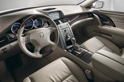 2009 Acura RL Instrumentation