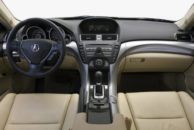 2009 Acura TL Instrumentation
