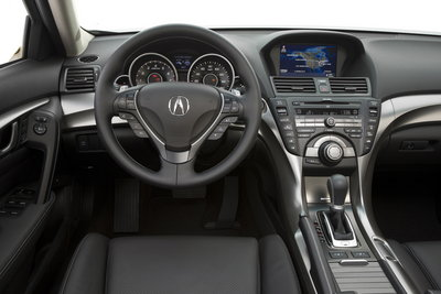 2009 Acura TL SH-AWD Instrumentation