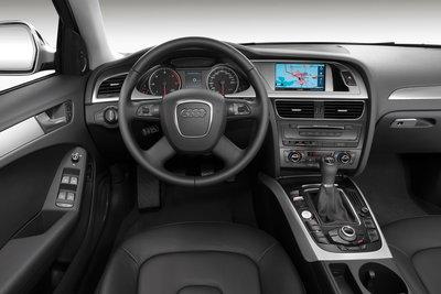 2009 Audi A4 Sedan Instrumentation