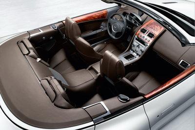 2009 Aston Martin DB9 Volante Interior