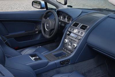 2009 Aston Martin V8 Vantage Convertible Interior