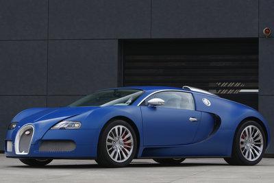 2009 Bugatti EB16.4 Veyron Bleu Centenaire