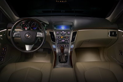 2009 Cadillac CTS Instrumentation