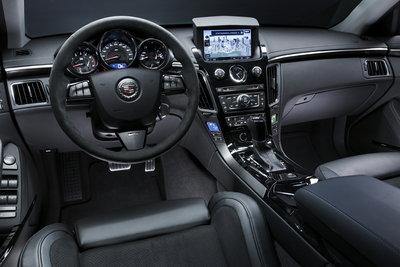 2009 Cadillac CTS-V Instrumentation