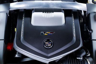 2009 Cadillac CTS-V Engine