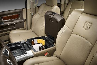 2009 Dodge Ram 1500 Crew Cab Interior