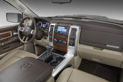 2009 Dodge Ram Laramie Crew Cab Interior