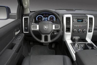 2009 Dodge Ram Sport Crew Cab Instrumentation