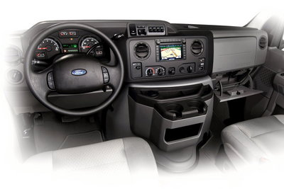 2009 Ford E-Series Wagon Instrumentation
