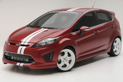 2009 Ford Fiesta by 3dCarbon and FSWerks