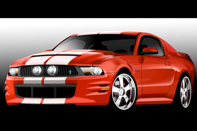 2009 Ford Mustang by 3dCarbon