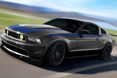 2009 Ford Mustang by Vaughn Gittin Jr