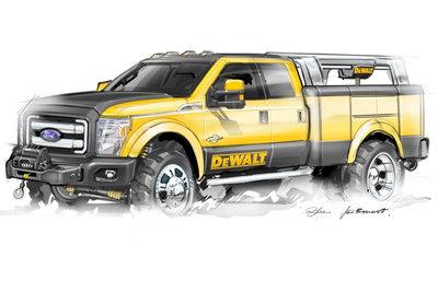 2009 Ford Super Duty DeWALT Contractor