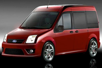 2009 Ford Transit Connect by Azentek and Grant Products
