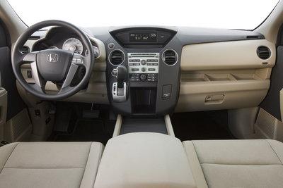 2009 Honda Pilot LX Instrumentation
