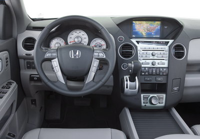 2009 Honda Pilot Touring Instrumentation
