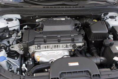 2009 Hyundai Elantra Touring Engine