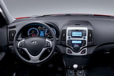 2009 Hyundai Elantra Touring Instrumentation