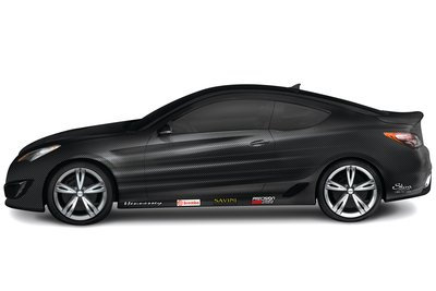 2009 Hyundai Hennessey Genesis Carbon Coupe