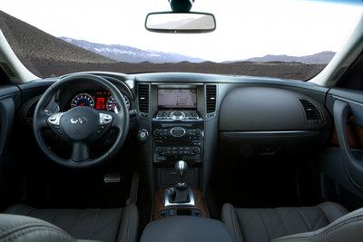 2009 Infiniti FX FX50 Interior