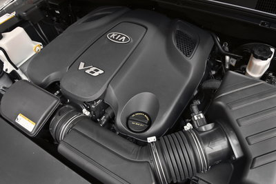 2009 Kia Borrego Engine
