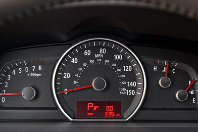 2009 Kia Borrego Instrumentation