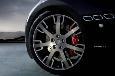 2009 Maserati Granturismo S Wheel