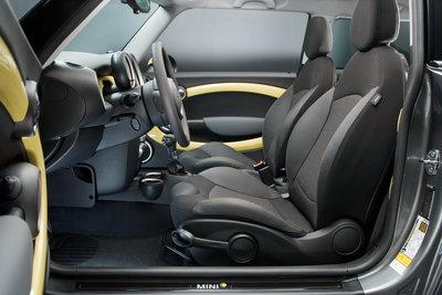 2009 Mini Mini E Interior