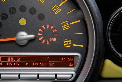 2009 Mini Mini E Instrumentation