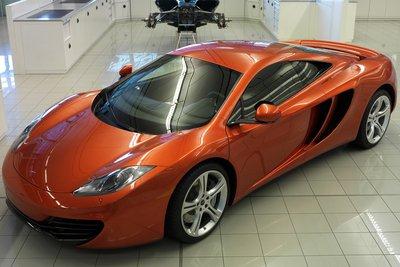 2009 McLaren MP4-12C