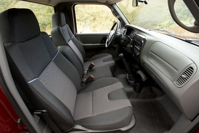 2009 Mazda B-Series Regular Cab Interior