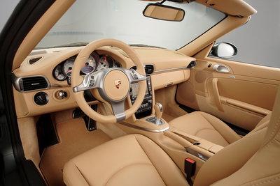 2009 Porsche 911 Carrera Cabriolet Interior