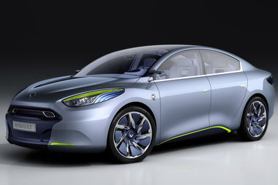 2009 Renault Fluence Zero Emission