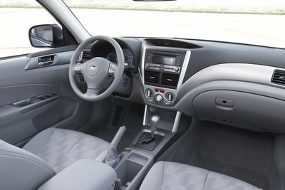 2009 Subaru Forester Interior