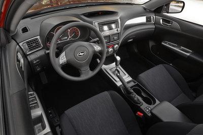2009 Subaru Impreza Sedan Interior
