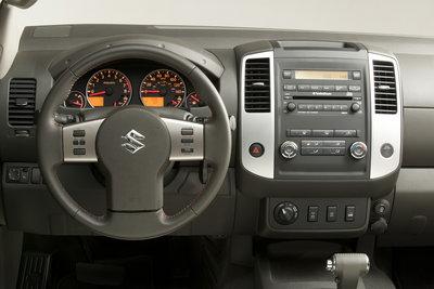 2009 Suzuki Equator Crew Cab Instrumentation