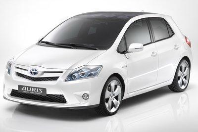 2009 Toyota Auris HSD Full Hybrid Concept