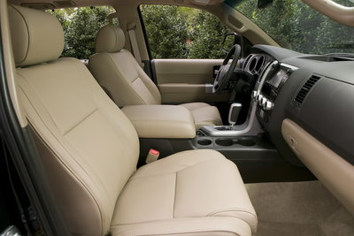 2009 Toyota Sequoia Limited Interior