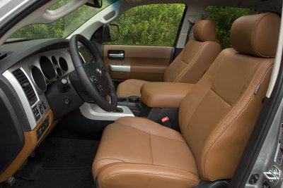 2009 Toyota Sequoia Platinum Interior