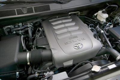 2009 Toyota Sequoia Platinum Engine